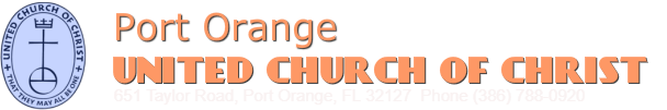 PORT ORANGE UNITED CHURCH OF CHRIST